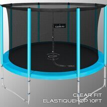 Батут Clear Fit ElastiqueHop 10Ft