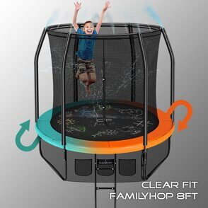Батут Clear Fit FamilyHop 8Ft
