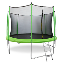 Батут Oxygen Fitness Standard 12 ft inside (Light green)